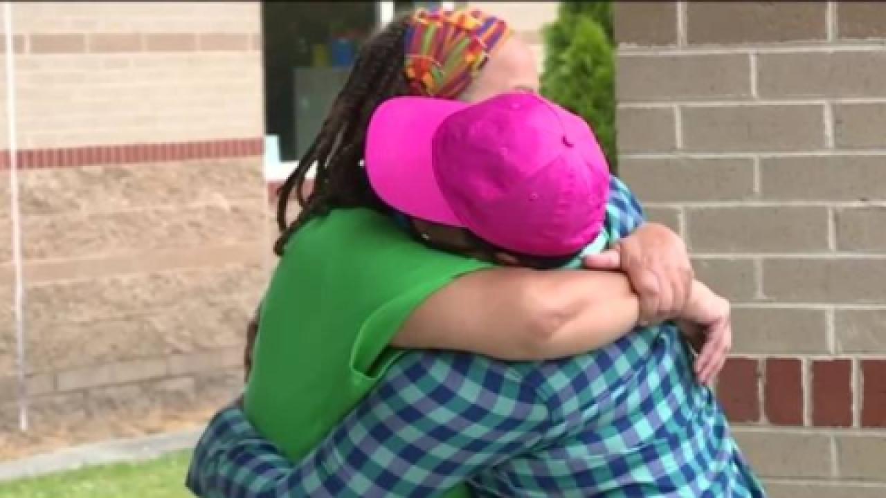 Henrico cancer survivor surprises teachers with gifts, hugs: 'It never broke her spirit'