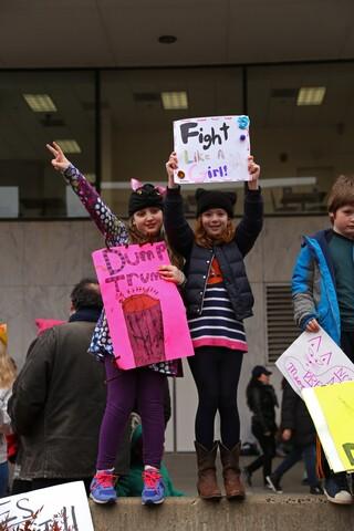 Photos: Women's march in Washington DC