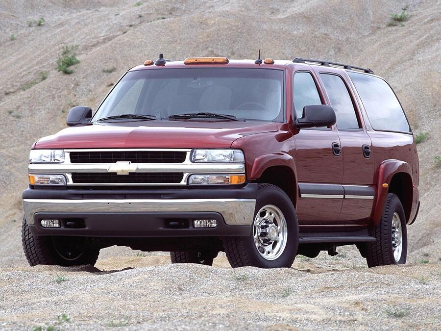 2004 Chevrolet Suburban: Fullsize pickup
