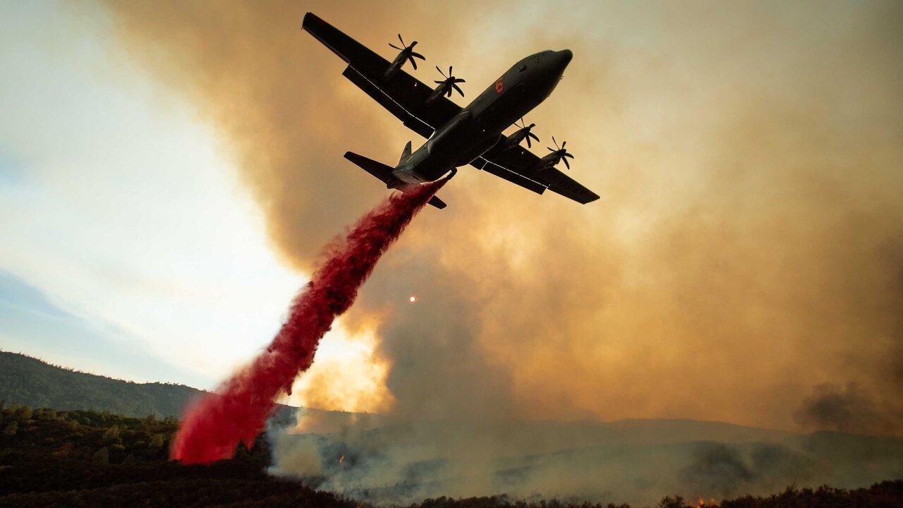 A look at California's largest wildfires, by the numbers