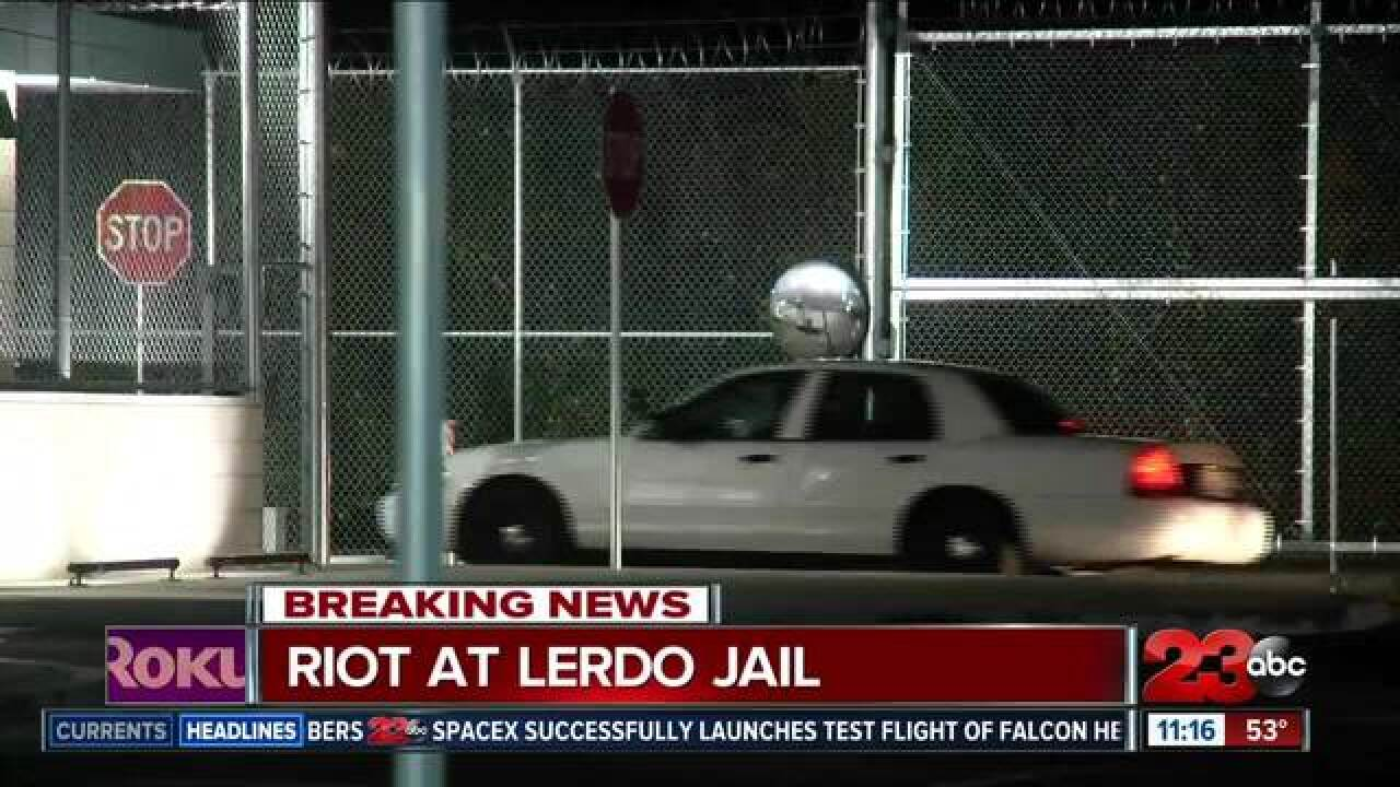 Riot at Lerdo jail