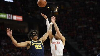 No. 9 Maryland tops No. 25 Michigan, earns share of Big Ten title