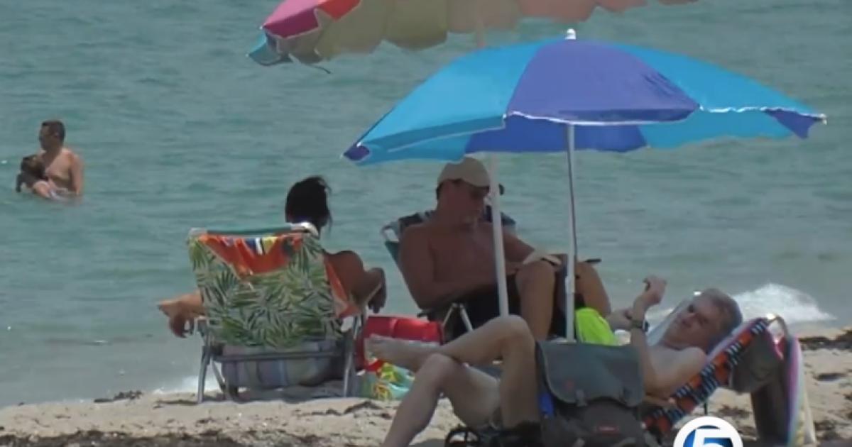 Swim advisory lifted at Carlin Park beach in Jupiter