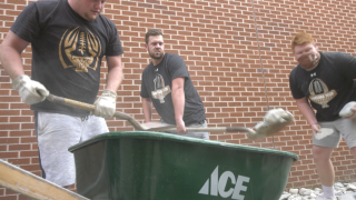 Montana Tech athletes give back to their community
