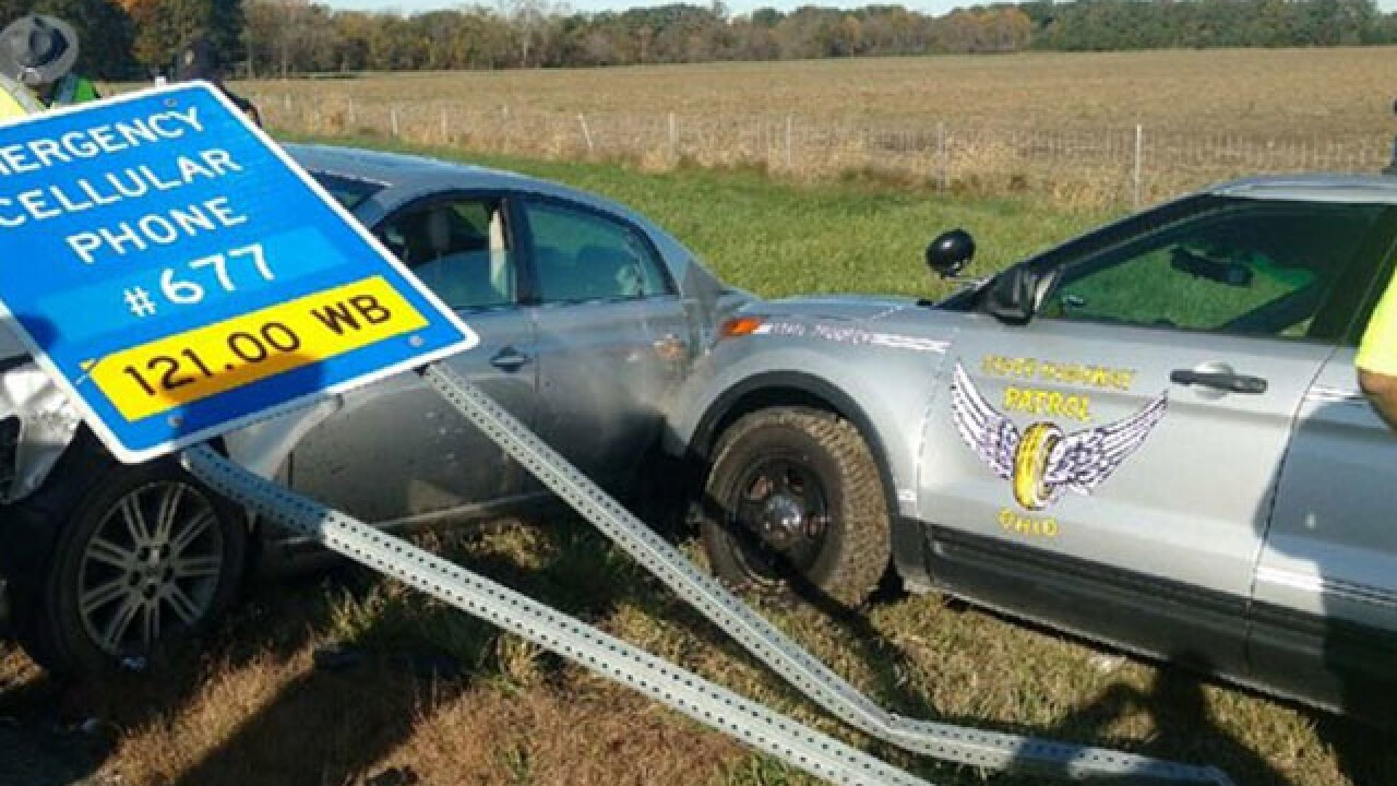 Boy leads troopers on high-speed chase