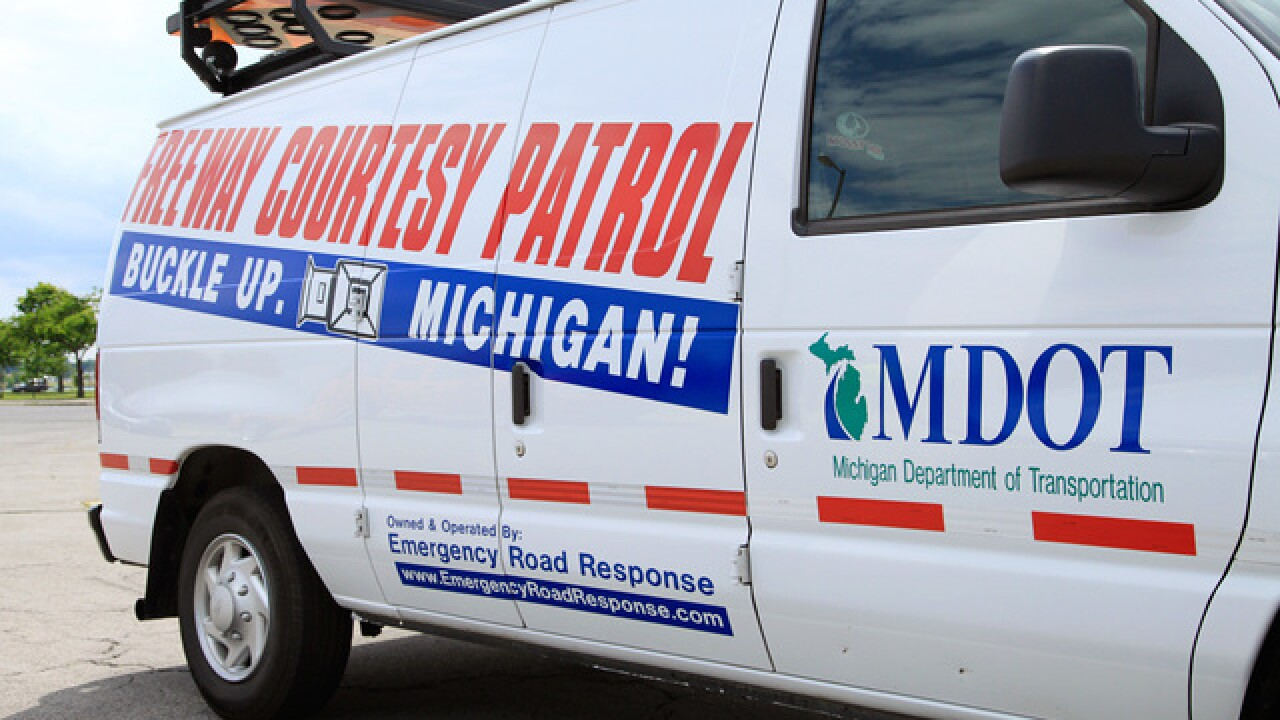Company pulls MDOT courtesy vans off metro Detroit roads over dispute