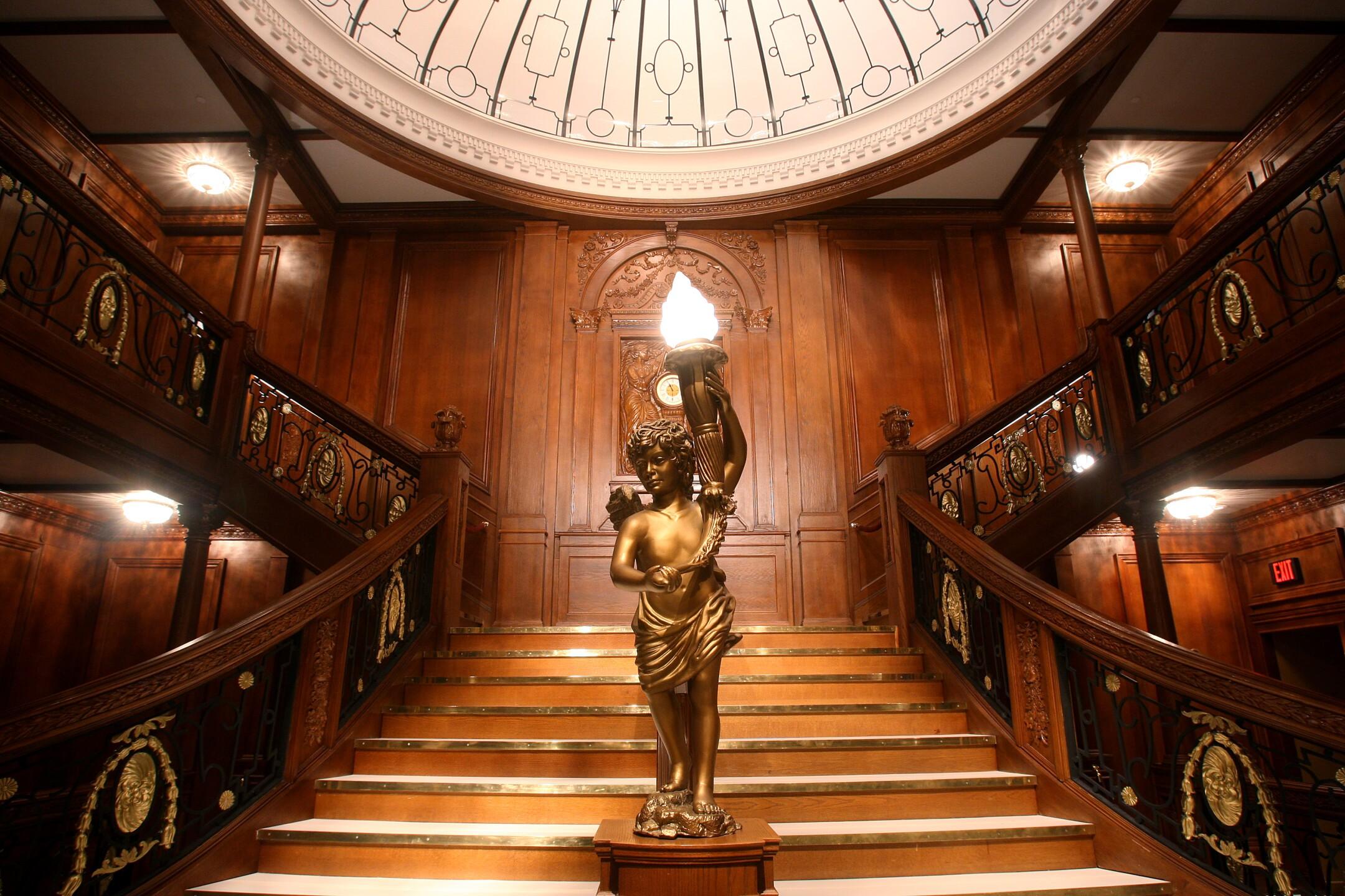 Grand Staircase_Titanic the Artifact Exhibition at Luxor Hotel & Casino.jpg