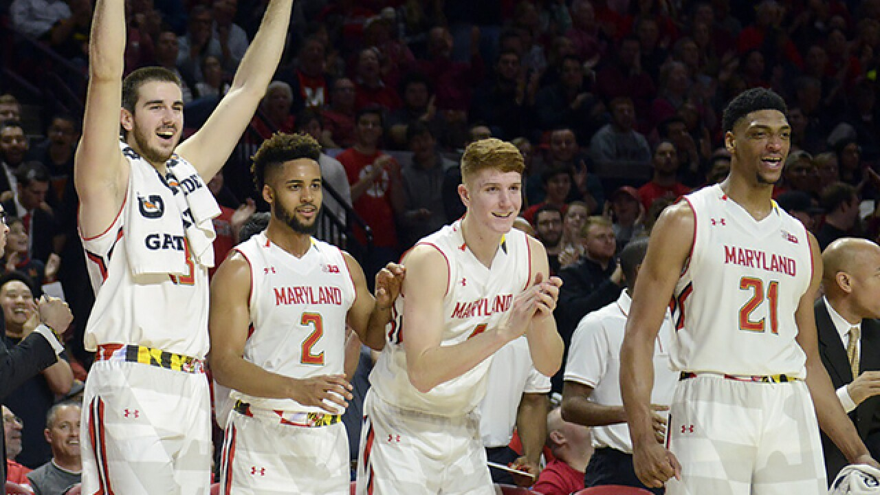 Maryland never trails in Big Ten opening rout of Illinois
