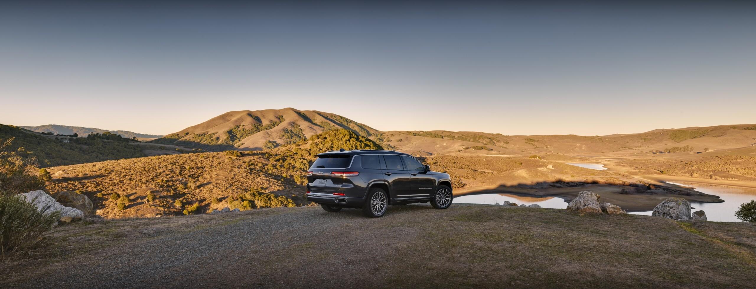 All-new 2021 Jeep® Grand Cherokee L Summit Reserve