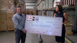 23ABC Donates to Community Action Partnership of Kern