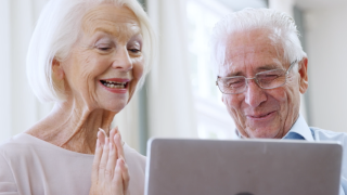 Seniors using technology to get through pandemic