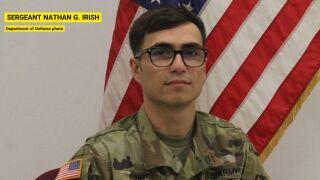 Sergeant Nathan G. Irish of Billings