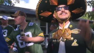 California-based Packers fan group throws the 'perfect tailgate' in Lambeau neighborhood