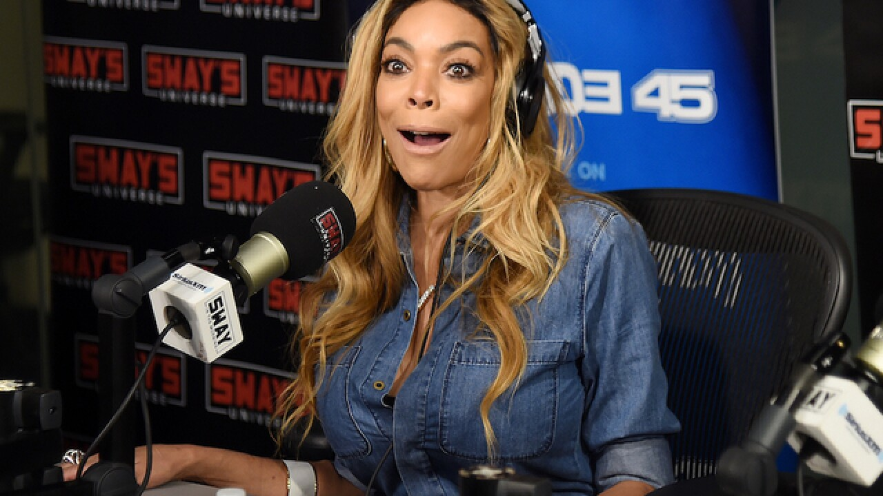 Wendy Williams blames hot flashes for fainting on-air