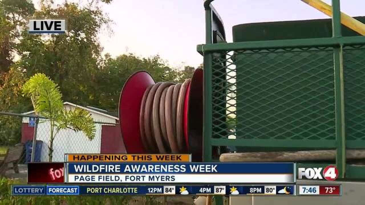 Wildfire Awareness Week promotes safety