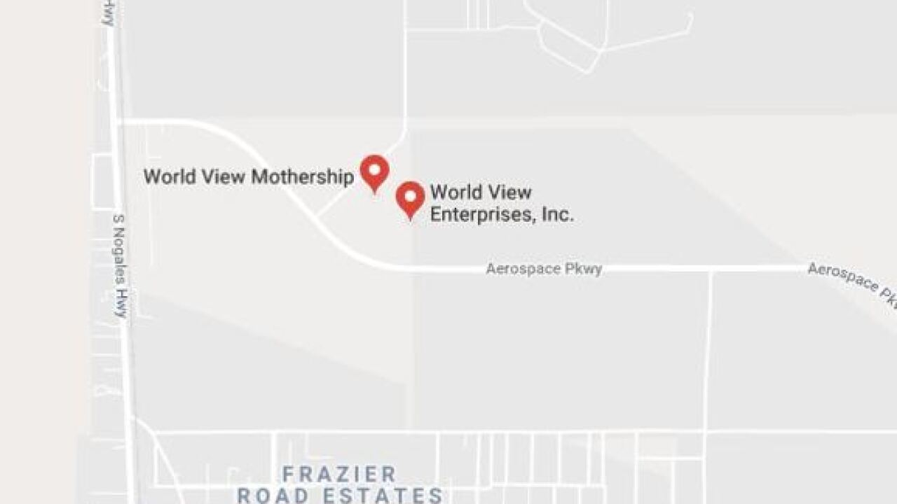 Explosion reported at World View