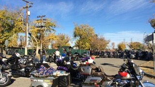 Bikers collect gifts for annual Bksfd Toy Run