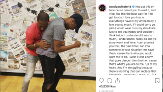 Cassius Winston posts tribute to brother Zachary: 'I love you bro'
