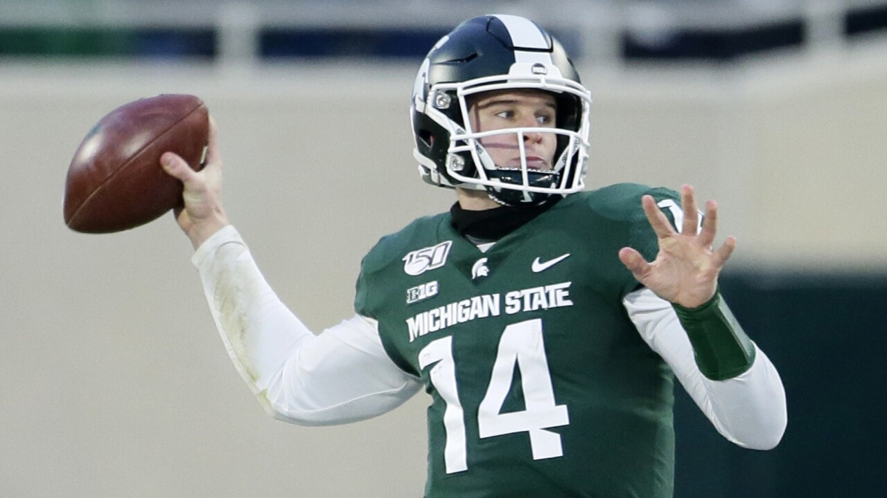 Brian_Lewerke_Maryland v Michigan State
