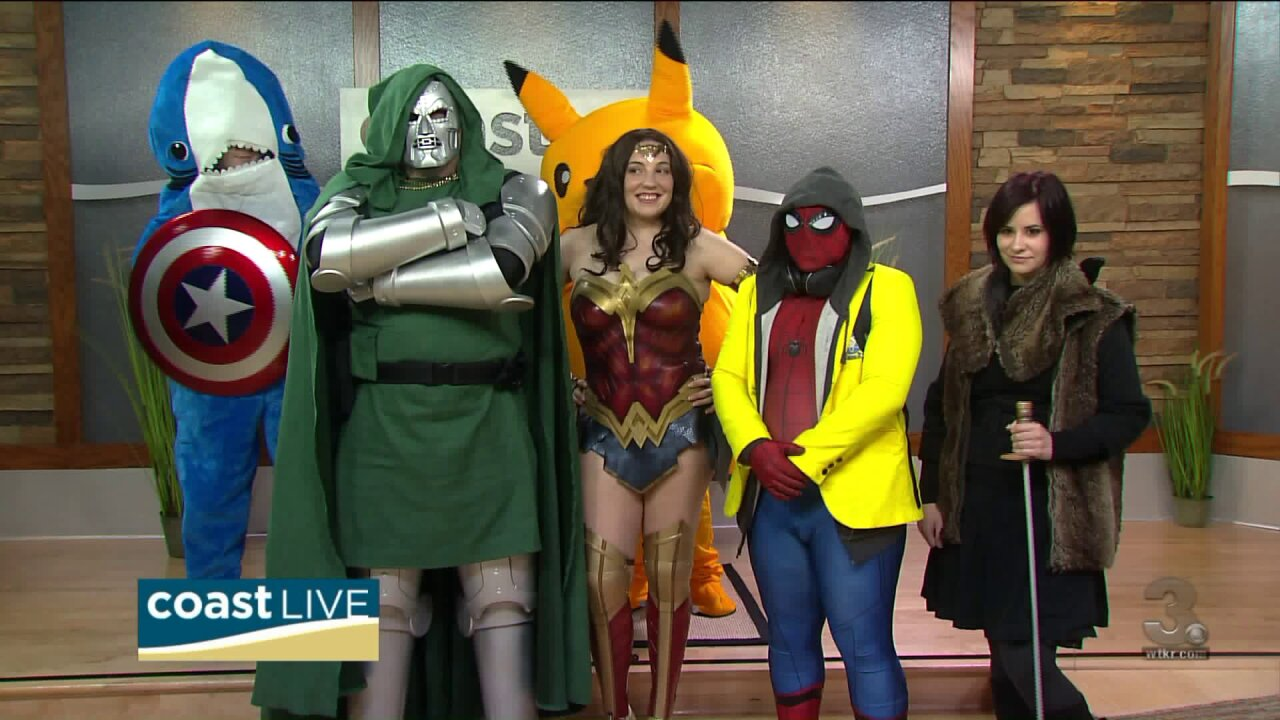 A cosplay preview of the 2019 Tidewater Comicon on CoastLive