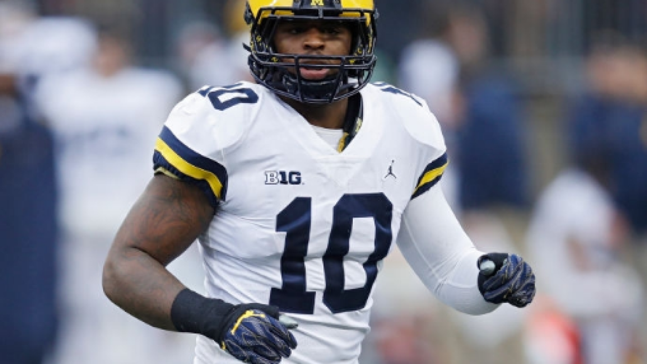Michigan's Devin Bush among prospects to attend NFL Draft