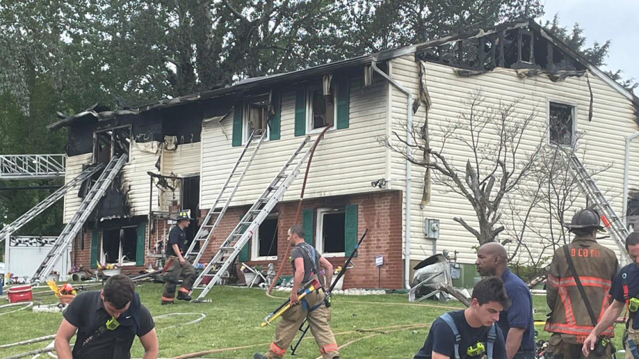 Lochearn house fire