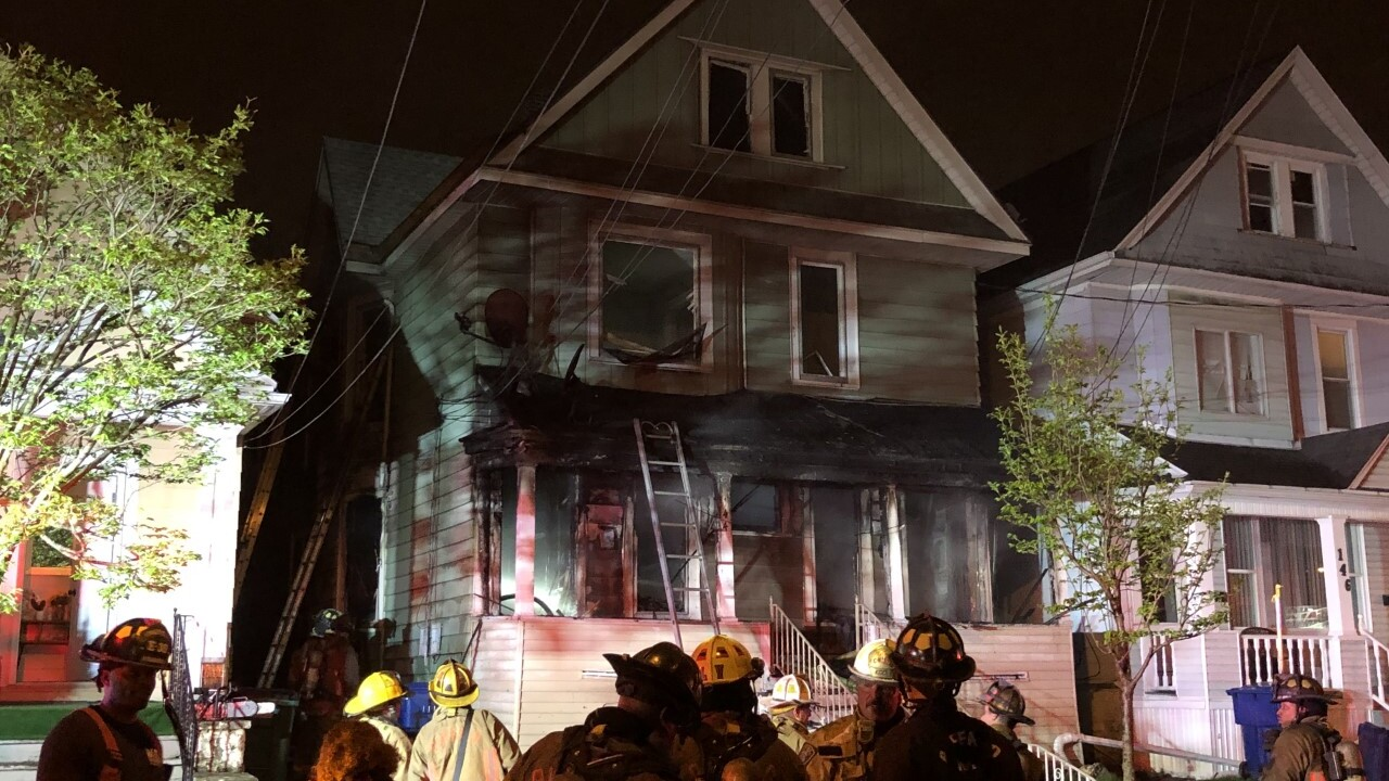 Fire heavily damages home on Bush Street