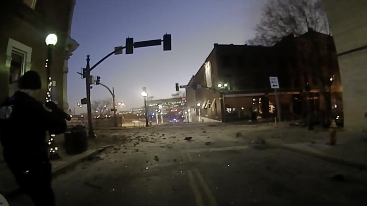 explosion body cam screenshot