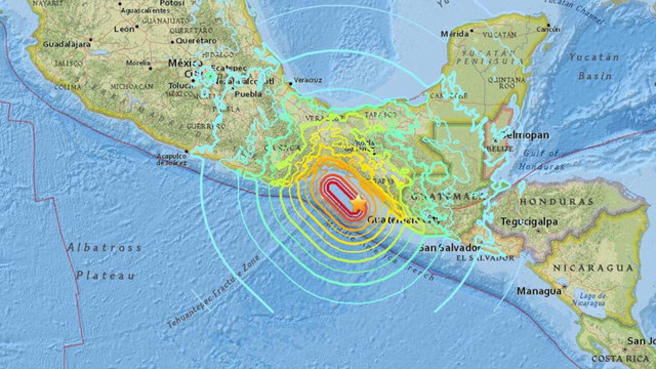 Social Media Reaction 8 1 Earthquake In Mexico