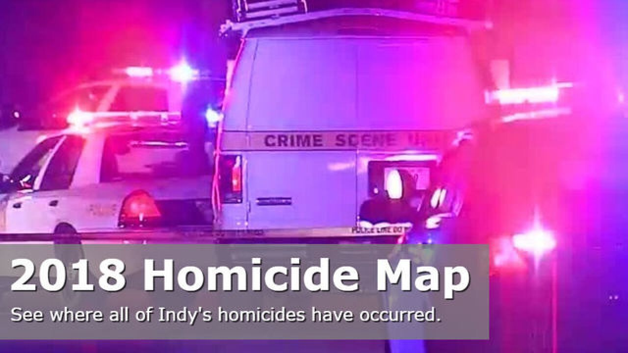 MAP: 2018 Indianapolis Homicides