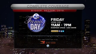 Join us for Channel 7 Family Day at the Detroit auto show today
