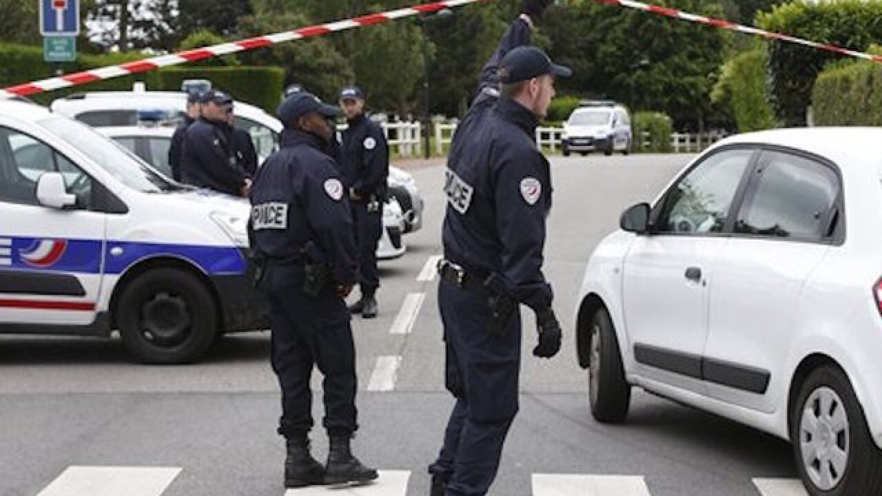 'I just killed a police officer,' said French stabbing suspect