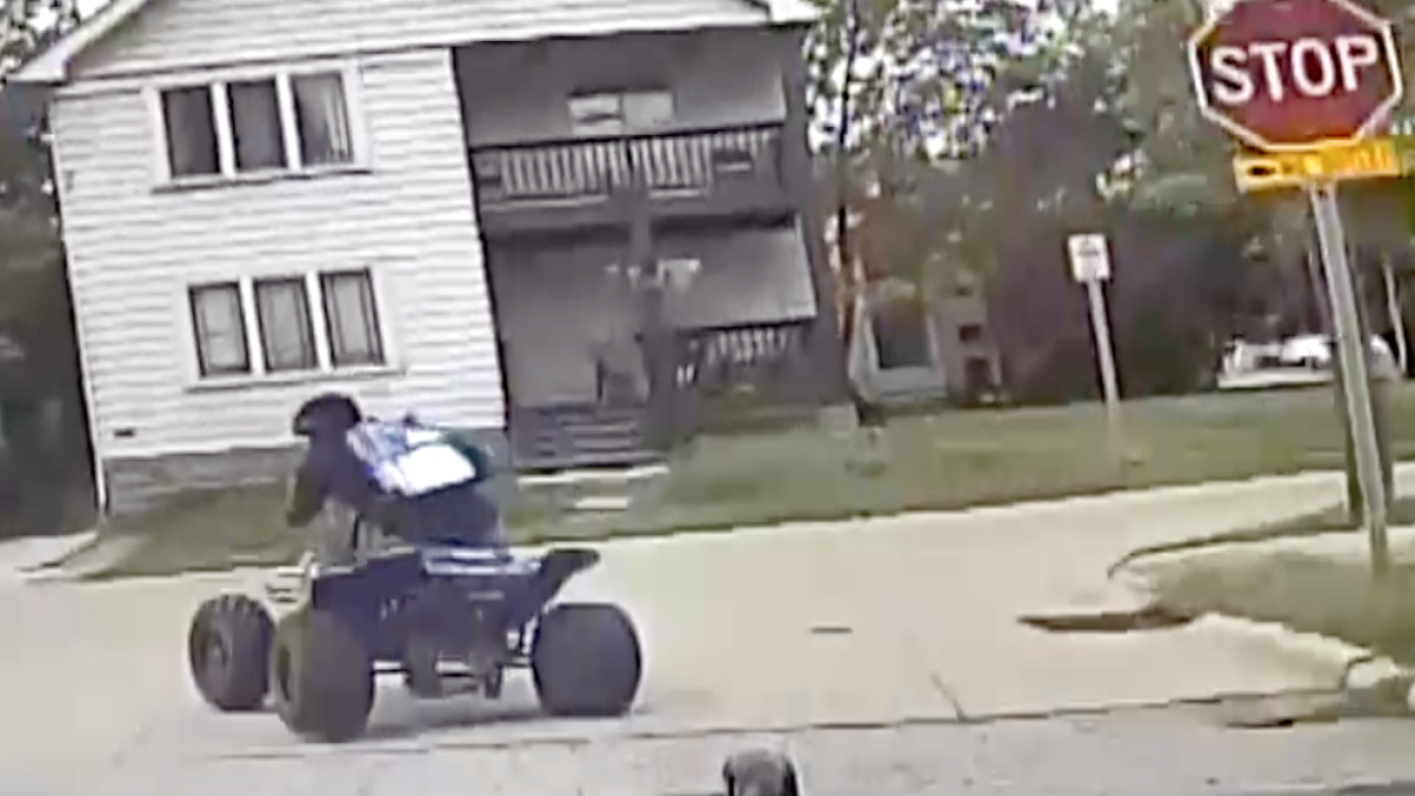 CLE residents applaud Newburgh Hts. police illegal ATV rider arrest