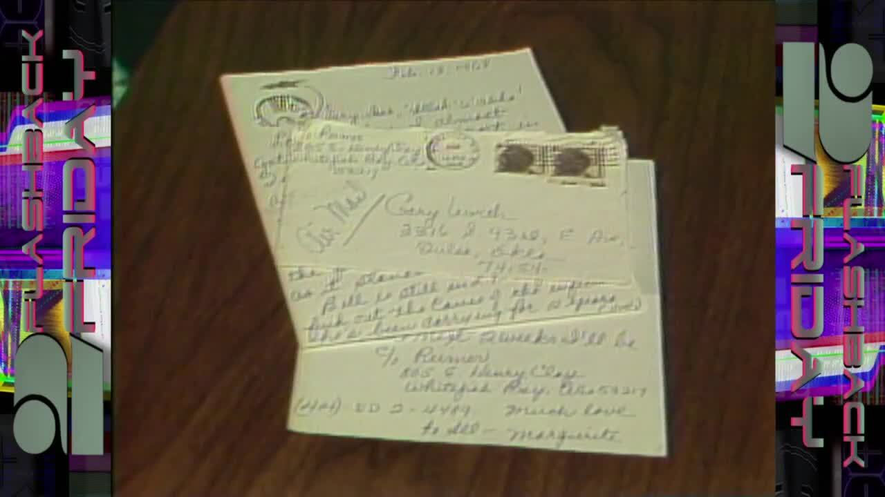 Flashback Friday: Letter received 20 years later