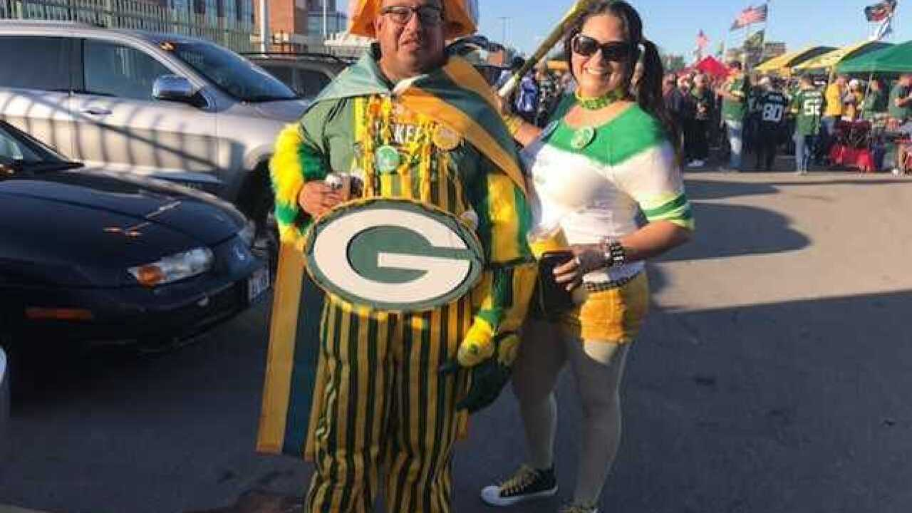 Tailgaters have high hopes for the Packers