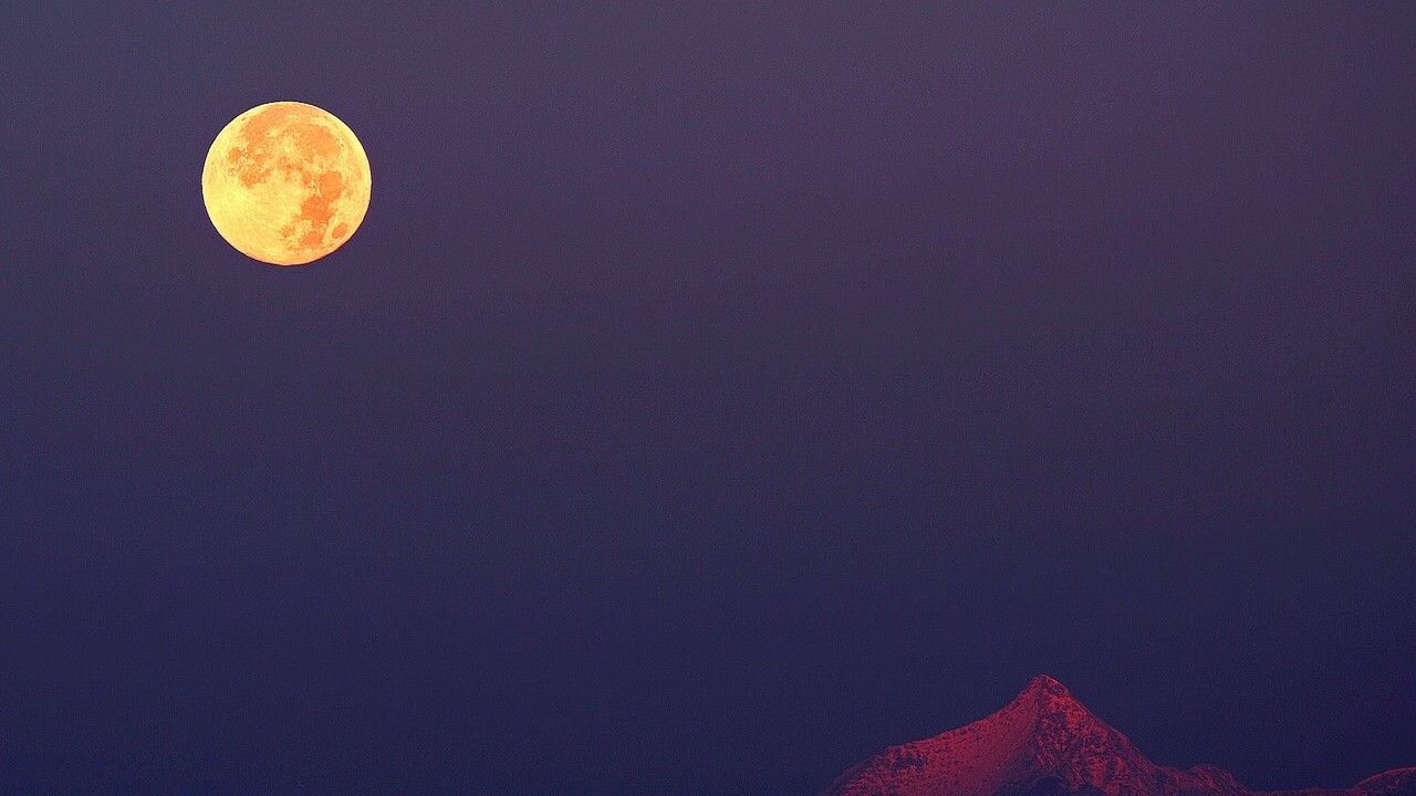 This weekend's full Hunter's Moon may appear larger, more orange
