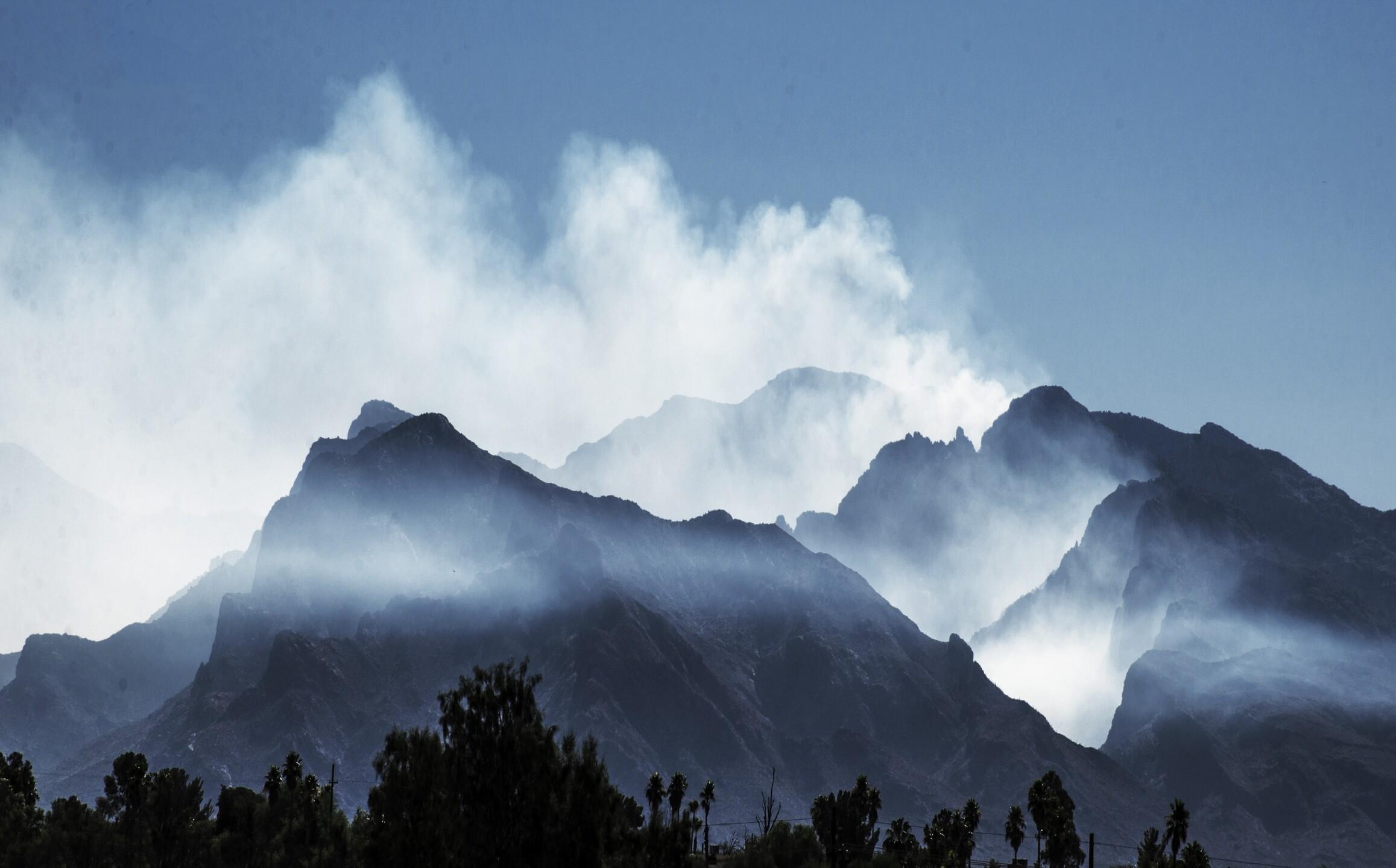 Tuscon Lightning Fire by Vinson La Noir.jpg