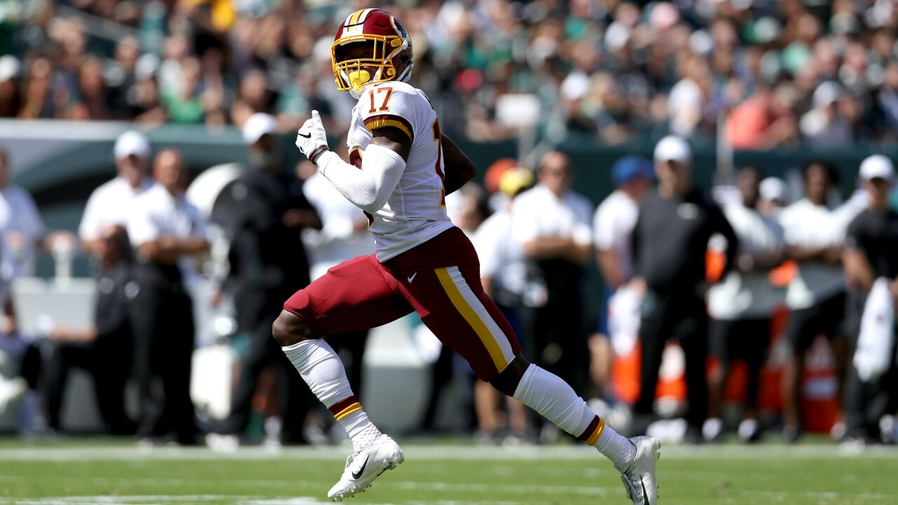 Terry McLaurin ruled out for Sunday's game, just 8 yards away from Redskins rookie receiving yards record