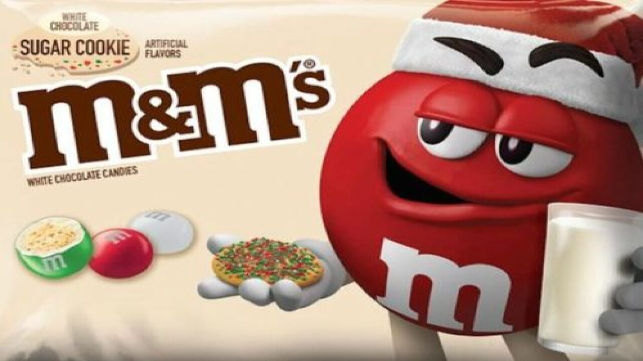 Sugar Cookie M&Ms Are Coming Out For The Holidays