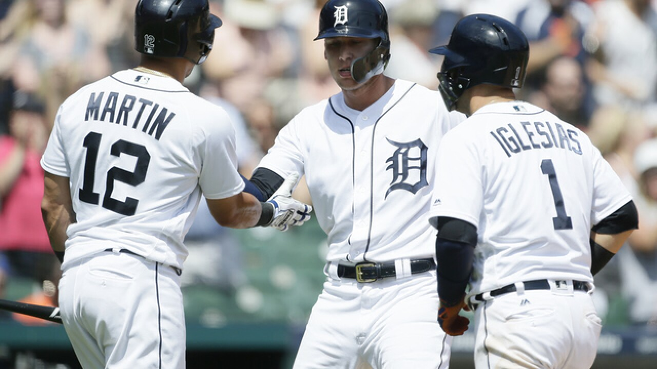 JaCoby Jones homers in seventh to lead Tigers over Twins