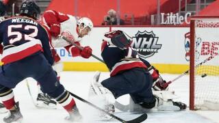 Mathias Brome Panthers Red Wings Hockey