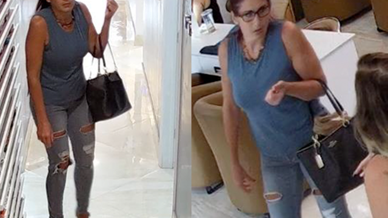 Woman suspected of stealing cash from Royal Palm Beach nail salon, PBSO says