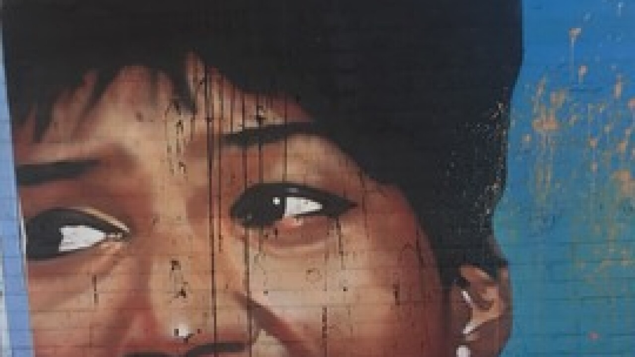 Aretha Franklin mural vandalized overnight at Detroit's Eastern Market