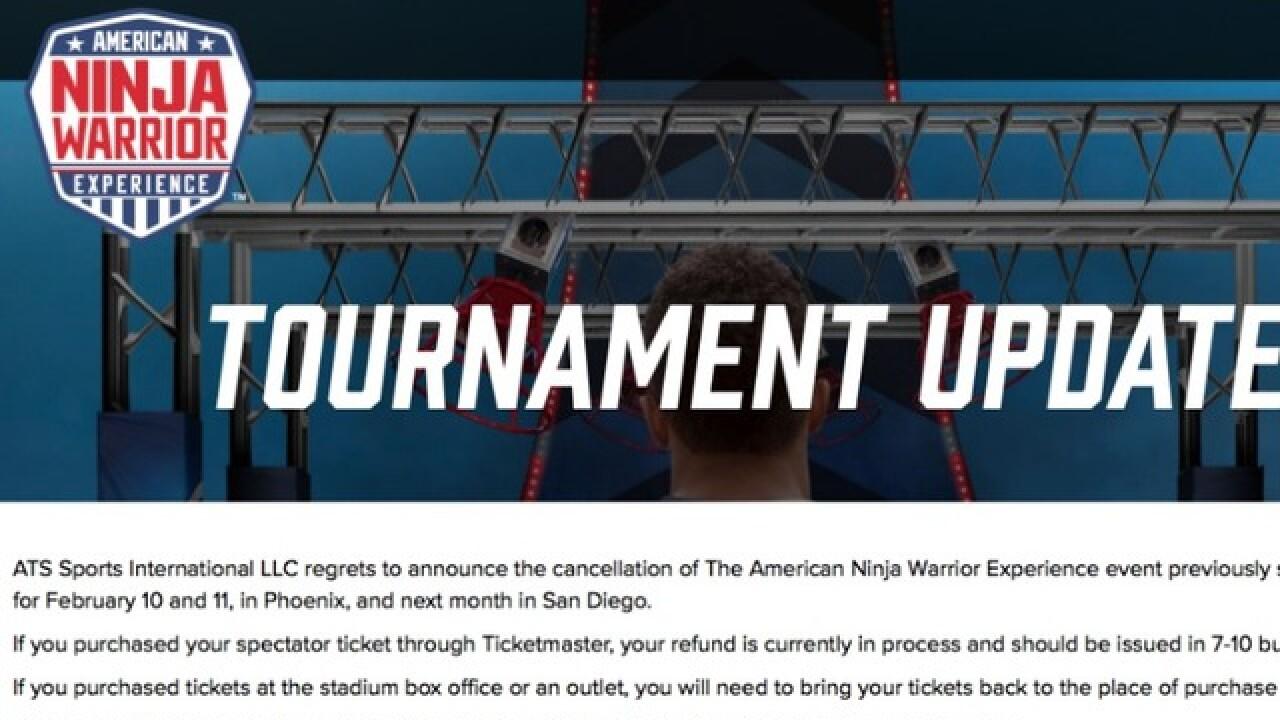 free american ninja warrior games