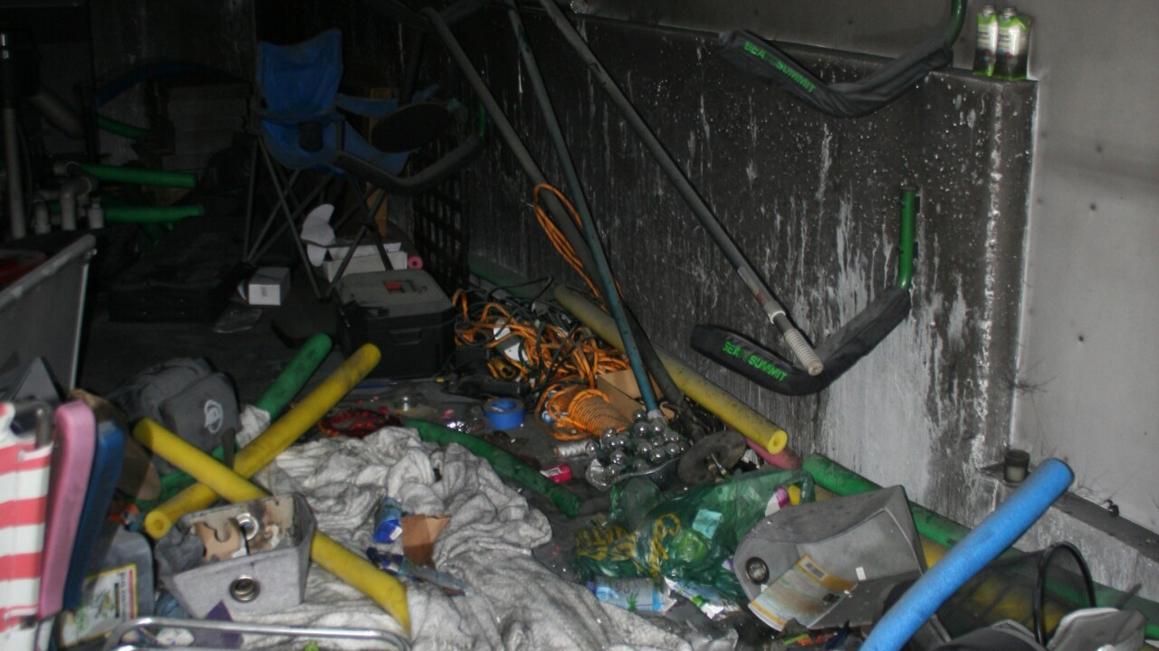 These are scene pictures provided by New London Connecticut fire authorities connected to a fire involving former Zappos CEO Tony Hsieh