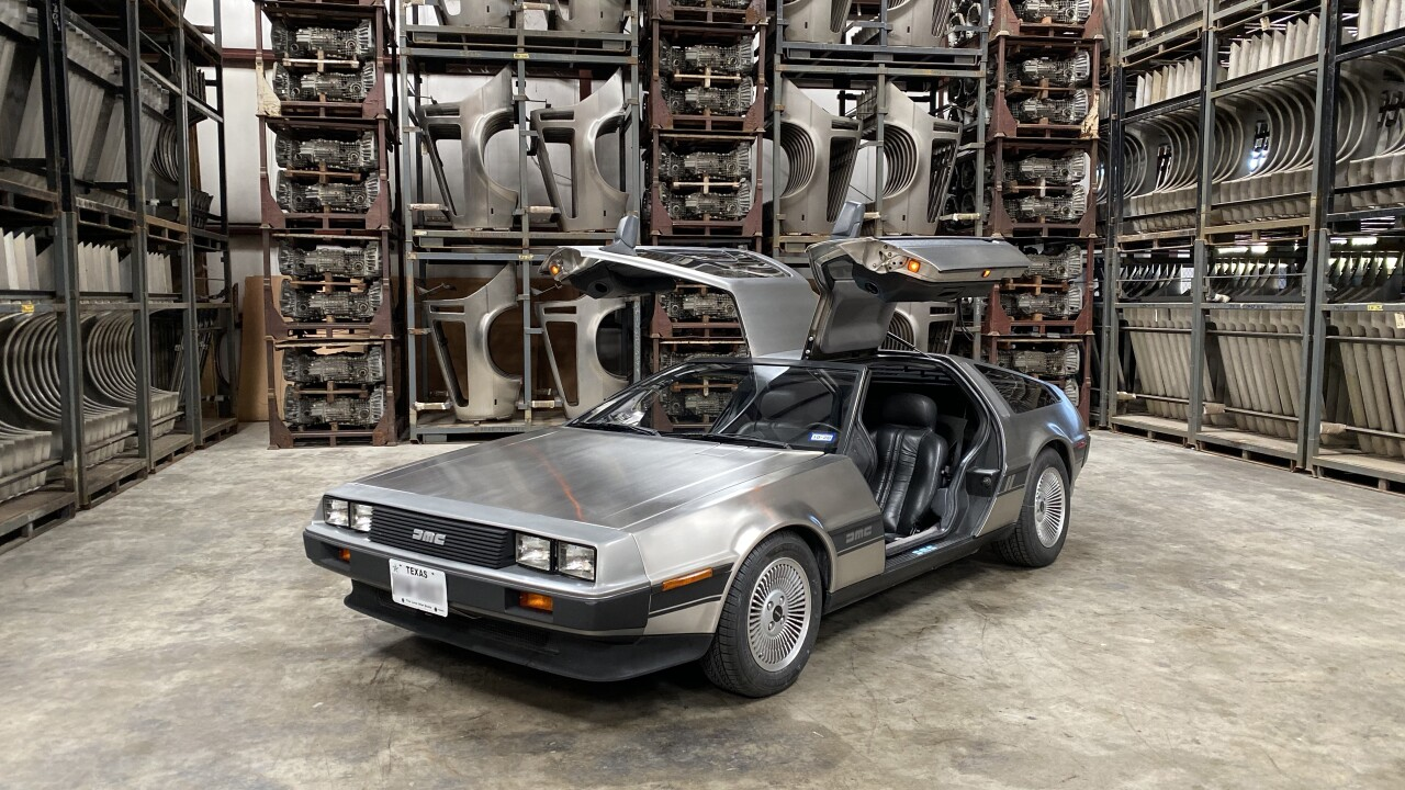 DeLorean Motor Company still going strong, hoping to build new models one day