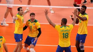 Brazil, ROC, Italy, Japan open with men's volleyball wins