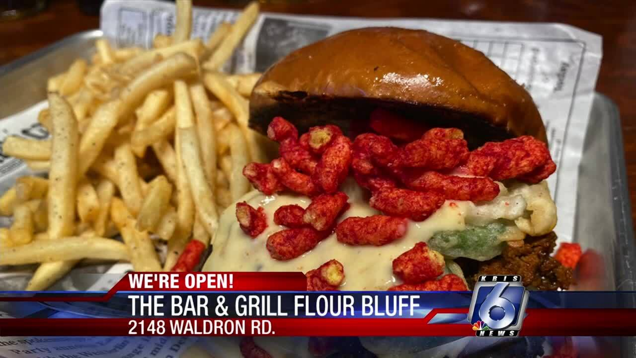 Flour Bluff Bar & Grill open to provide variety for diners