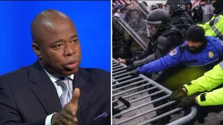 Eric Adams calls for investigation of police response at Capitol