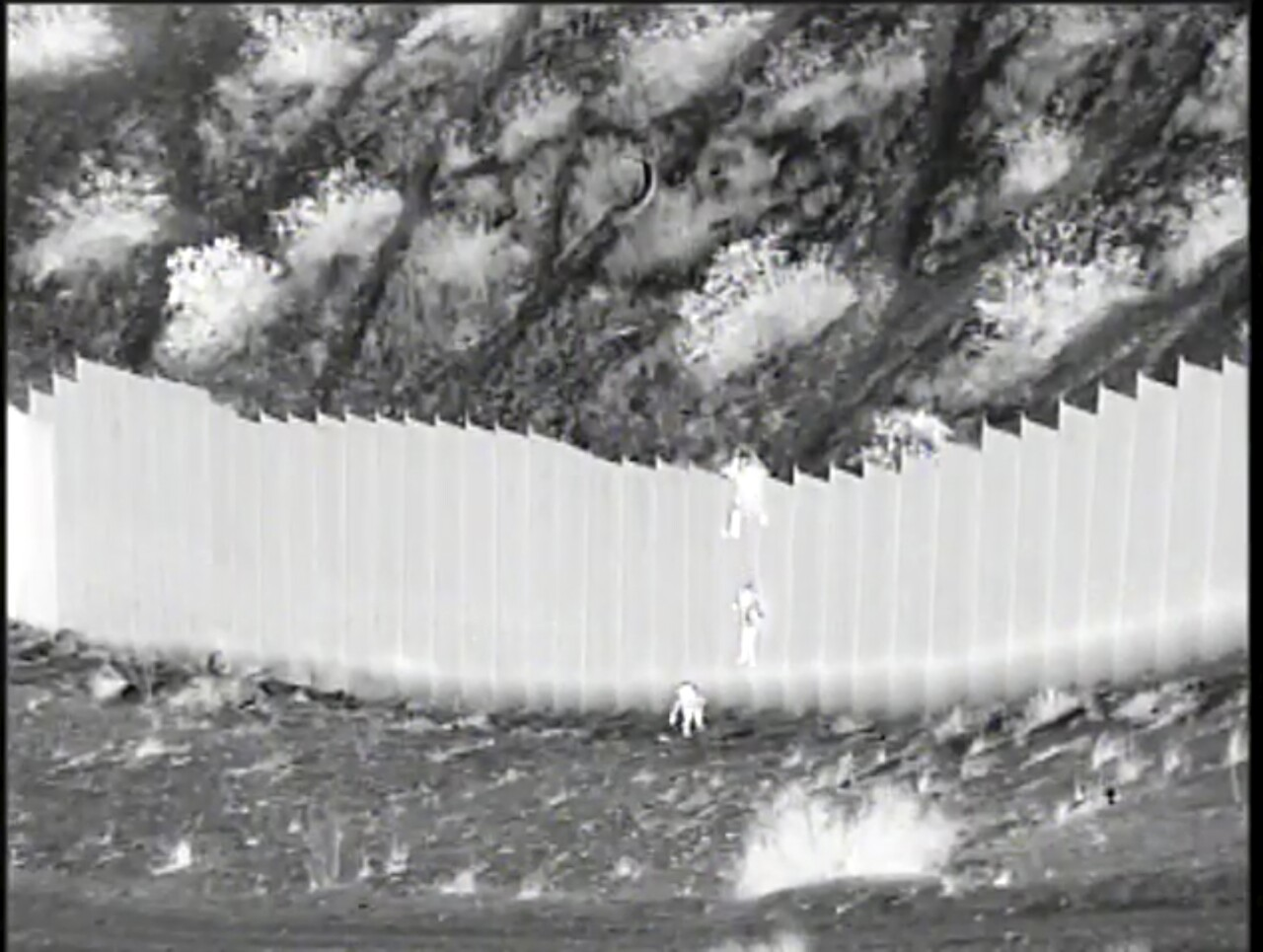 A short, grainy video recently released by U.S. authorities captures the dangers for migrant children at the southern border. Photo via AP.